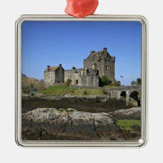 Eilean Donan Castle, Scotland. The famous Eilean 2 Christmas Tree Ornament