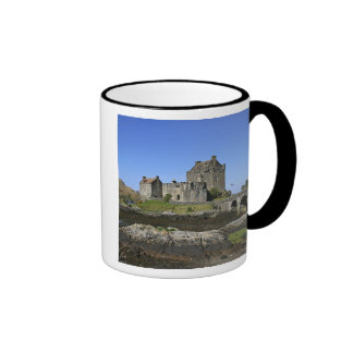 Eilean Donan Castle, Scotland. The famous Eilean 2 Ringer Mug