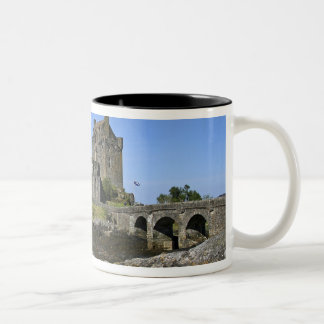 Eilean Donan Castle, Scotland. The famous Eilean 2 Two-Tone Coffee Mug