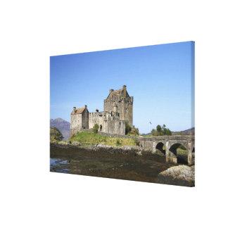 Eilean Donan Castle, Scotland. The famous Eilean 3 Canvas Print