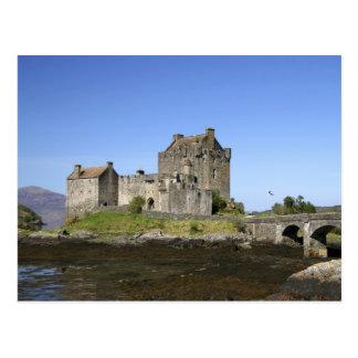 Eilean Donan Castle, Scotland. The famous Eilean 3 Postcard