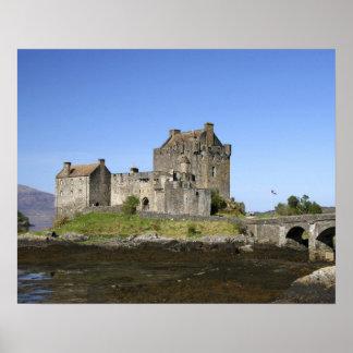 Eilean Donan Castle, Scotland. The famous Eilean 3 Poster
