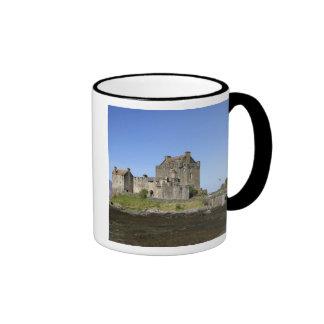 Eilean Donan Castle, Scotland. The famous Eilean 3 Ringer Mug