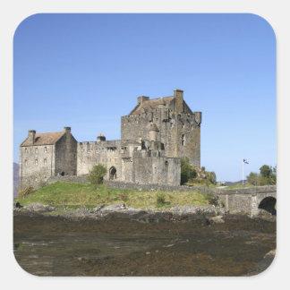 Eilean Donan Castle, Scotland. The famous Eilean 3 Square Sticker
