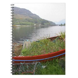 Eilean Donan Castle, Scotland. The famous Eilean 4 Notebook