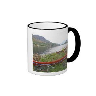 Eilean Donan Castle, Scotland. The famous Eilean 4 Ringer Mug
