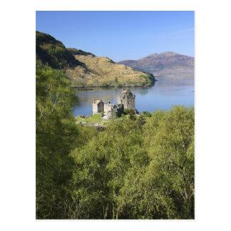 Eilean Donan Castle, Scotland. The famous Eilean Postcard
