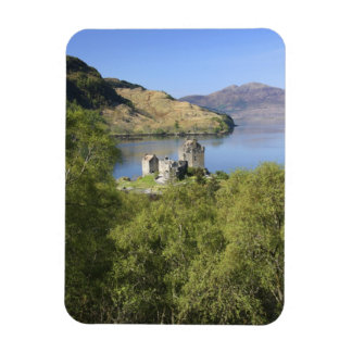 Eilean Donan Castle, Scotland. The famous Eilean Rectangular Photo Magnet