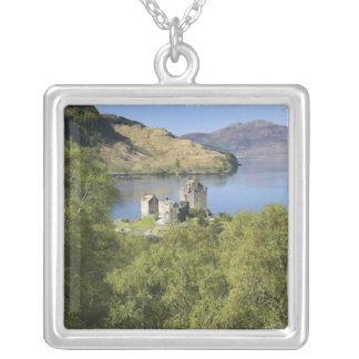 Eilean Donan Castle, Scotland. The famous Eilean Silver Plated Necklace