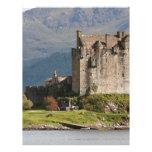 Eilean Donan Castle, Scotland, United Kingdom 2 Letterhead Design