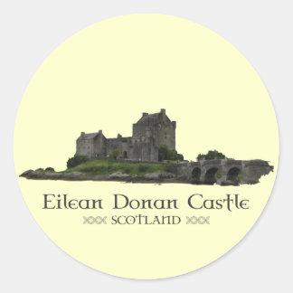 Eilean Donan Castle Round Sticker