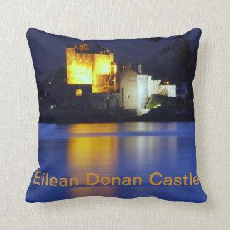 Eilean Donan Castle Throw Pillows