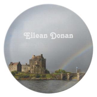 Eilean Donan Dinner Plate