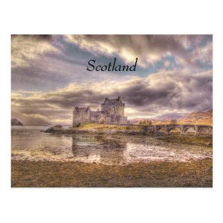 Eilean Donan sky, Scotland Postcard