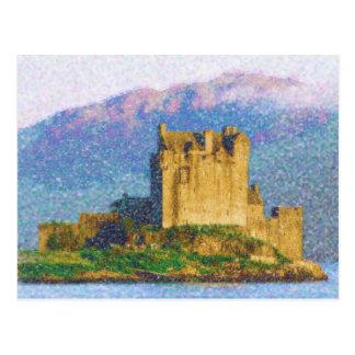 Eilean Donnan Castle Postcard