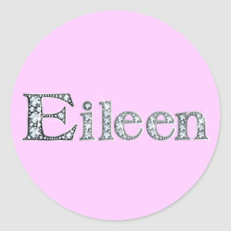 """Eileen"" Diamond Bling Sticker"