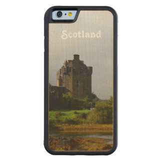 Eileen Donan Castle in Early Autumn Carved Maple iPhone 6 Bumper Case