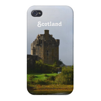 Eileen Donan Castle in Early Autumn Case For iPhone 4