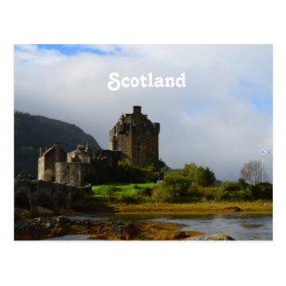 Eileen Donan Castle in Early Autumn Postcard