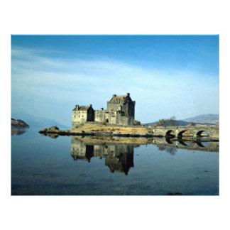 Eileen Donan Castle Kyle of Lochalsh Scotland Flyers