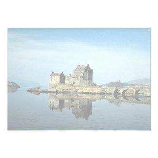 Eileen Donan Castle Kyle of Lochalsh Scotland Custom Announcements