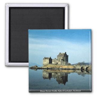 Eileen Donan Castle Kyle of Lochalsh Scotland Magnets