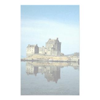 Eileen Donan Castle Kyle of Lochalsh Scotland Stationery Design