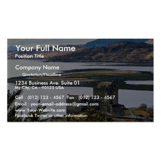 Eileen Donan Castle, Loch Duich, Scotland Double-Sided Standard Business Cards (Pack Of 100)