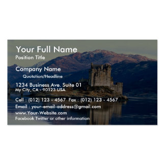 Eileen Donan Castle, Loch Duich, Scotland Business Card
