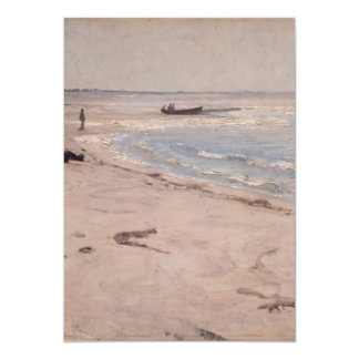 Eilif Peterssen - From the Beach at Sele 5x7 Paper Invitation Card
