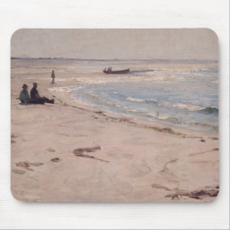 Eilif Peterssen - From the Beach at Sele Mouse Pad