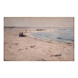 Eilif Peterssen - From the Beach at Sele Photo Art