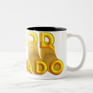 Ein Od Milvado Two-Tone Coffee Mug