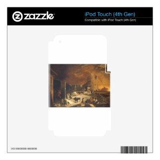 Ein Römischer Kalkofen by Sebastien Bourdon iPod Touch 4G Decals