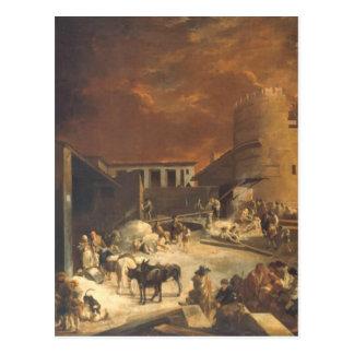 Ein Römischer Kalkofen by Sebastien Bourdon Postcard