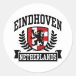 Eindhoven Pegatina Redonda
