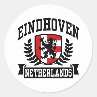Eindhoven Round Stickers