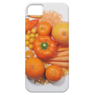 Eine Auswahl der orange Früchte u. des Gemüses iPhone 5 Case