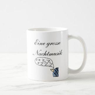 Eine kleine Nachtmusik, Eine grosse Nachtmusik - m Coffee Mug