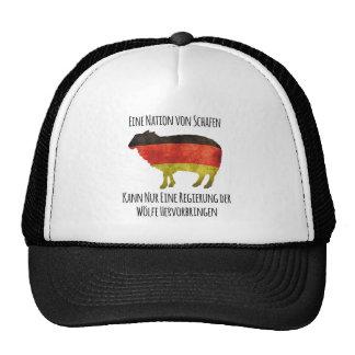 Eine Nation von Schafen kann nur eine Regierung .. Trucker Hat