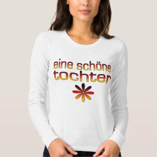 Eine Schöne Tochter Germany Flag Colors Shirts