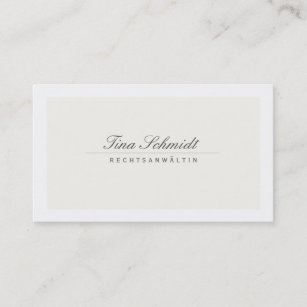 Klassisch Business Cards Business Card Printing Zazzle