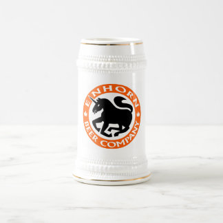 Einhorn Beer Co beer stein