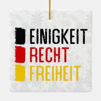 Einigkeit Recht Freiheit German Ornament