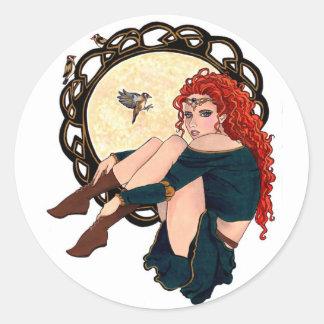 Einin Classic Round Sticker