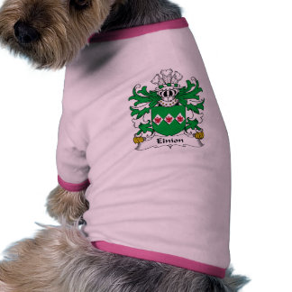 Einion Family Crest Dog T Shirt
