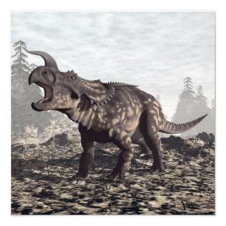Einiosaurus dinosaur - 3D render Card