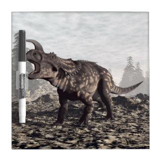 Einiosaurus dinosaur - 3D render Dry Erase Board