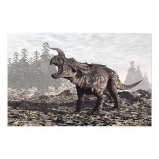 Einiosaurus dinosaur - 3D render Stationery