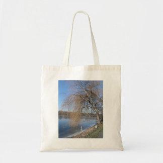 Einkaufstasche con árbol de pasto bolsa tela barata